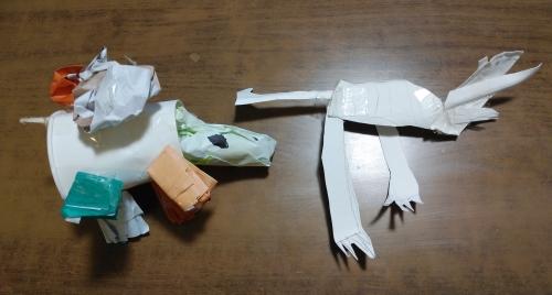 いぶきの作品(カメ&カルノタウルス)