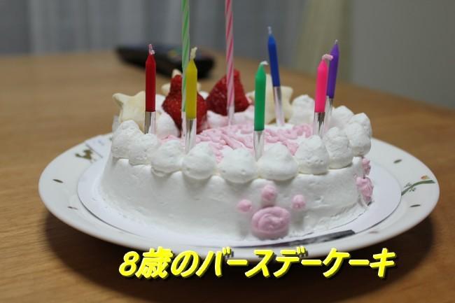 8才お誕生日 2017 - コピー