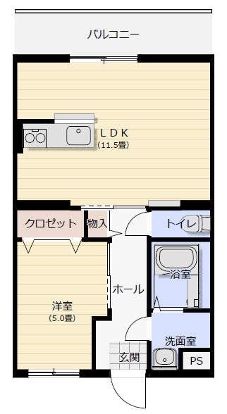 1LDK(2)