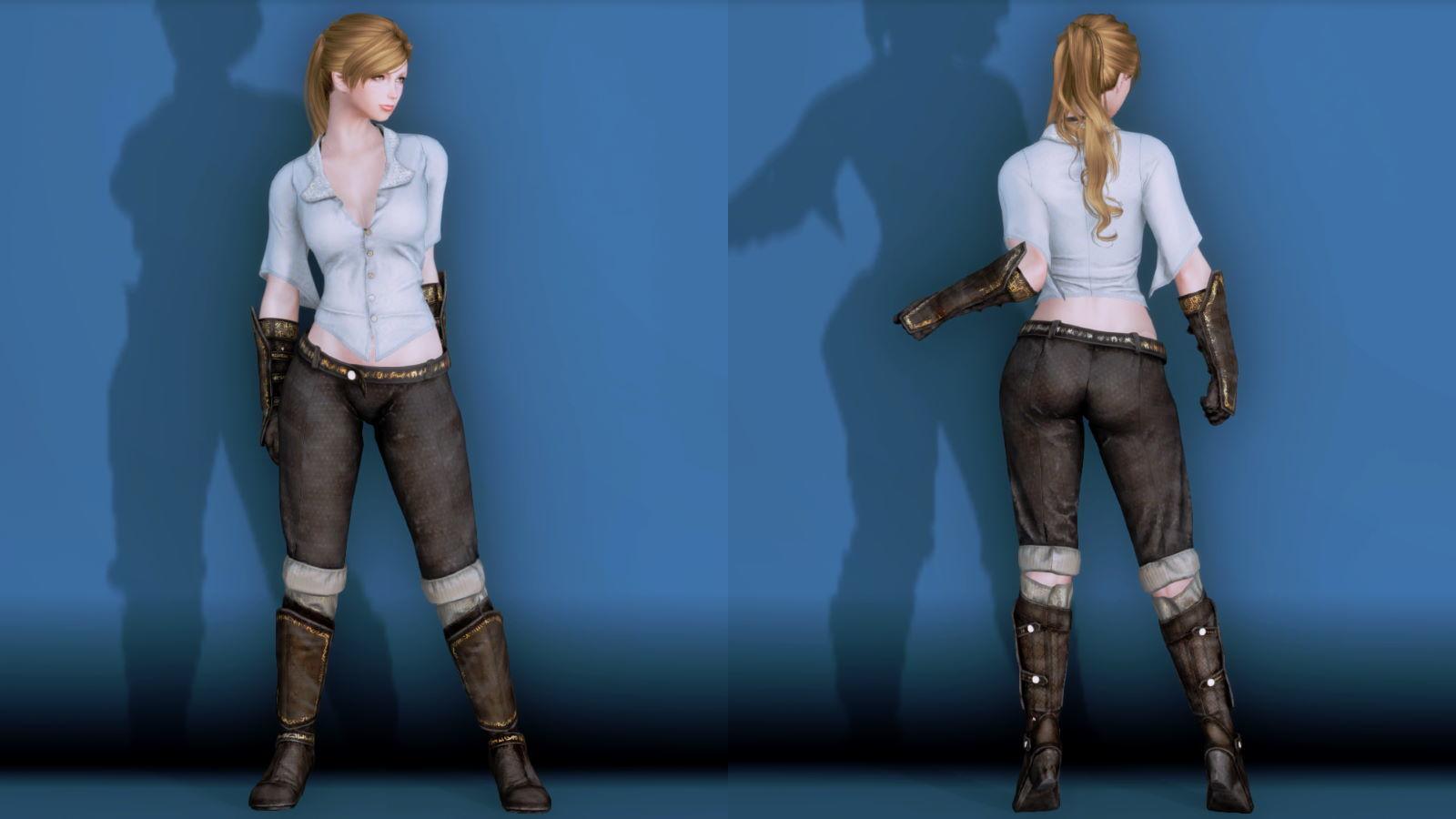 RuggedRogueSSE 131-1 Pose Fu-Ba-F Blouse Trouser 2