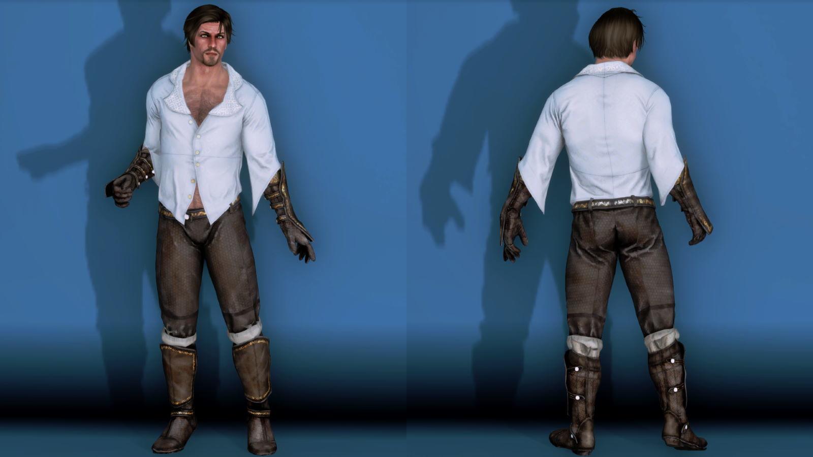 RuggedRogueSSE 531-1 Pose Fu-Ba-M Blouse Trouser 2