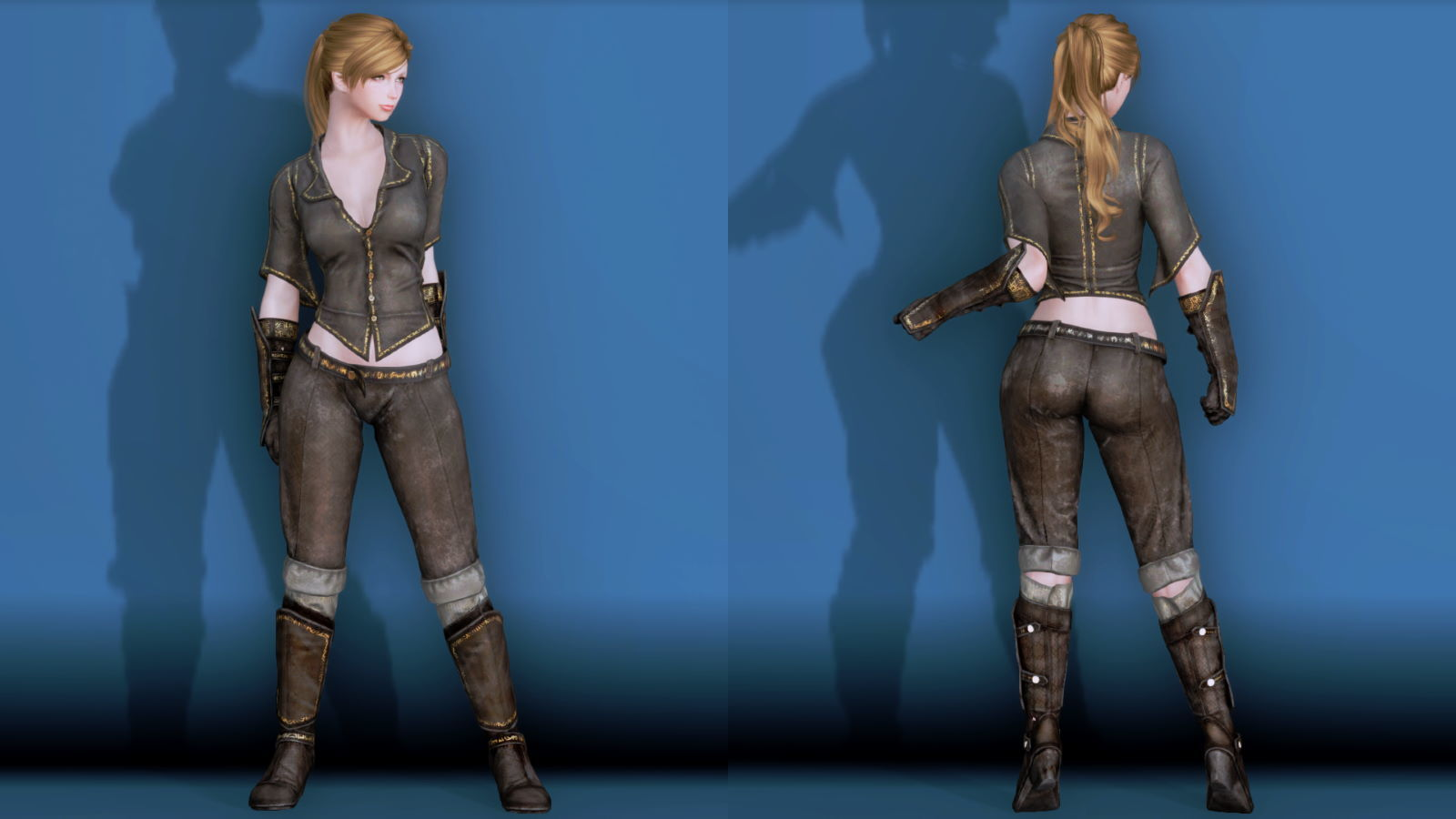 RuggedRogueSSE 141-1 Pose Fu-Ba-F Blouse Trouser W 2