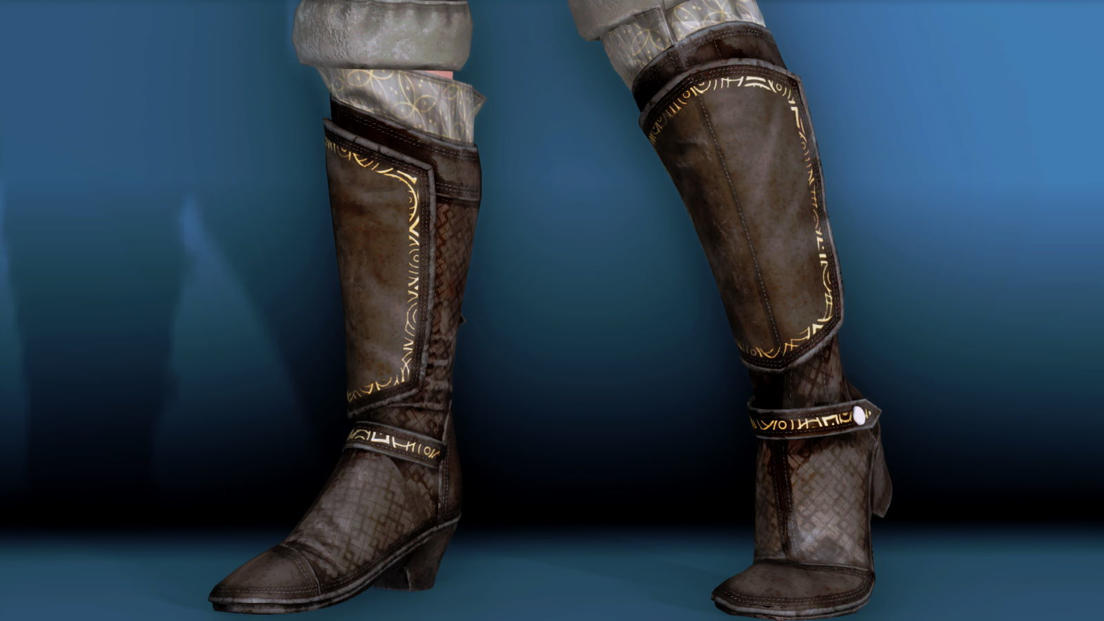 RuggedRogueSSE 420-1 Pose Boots 1