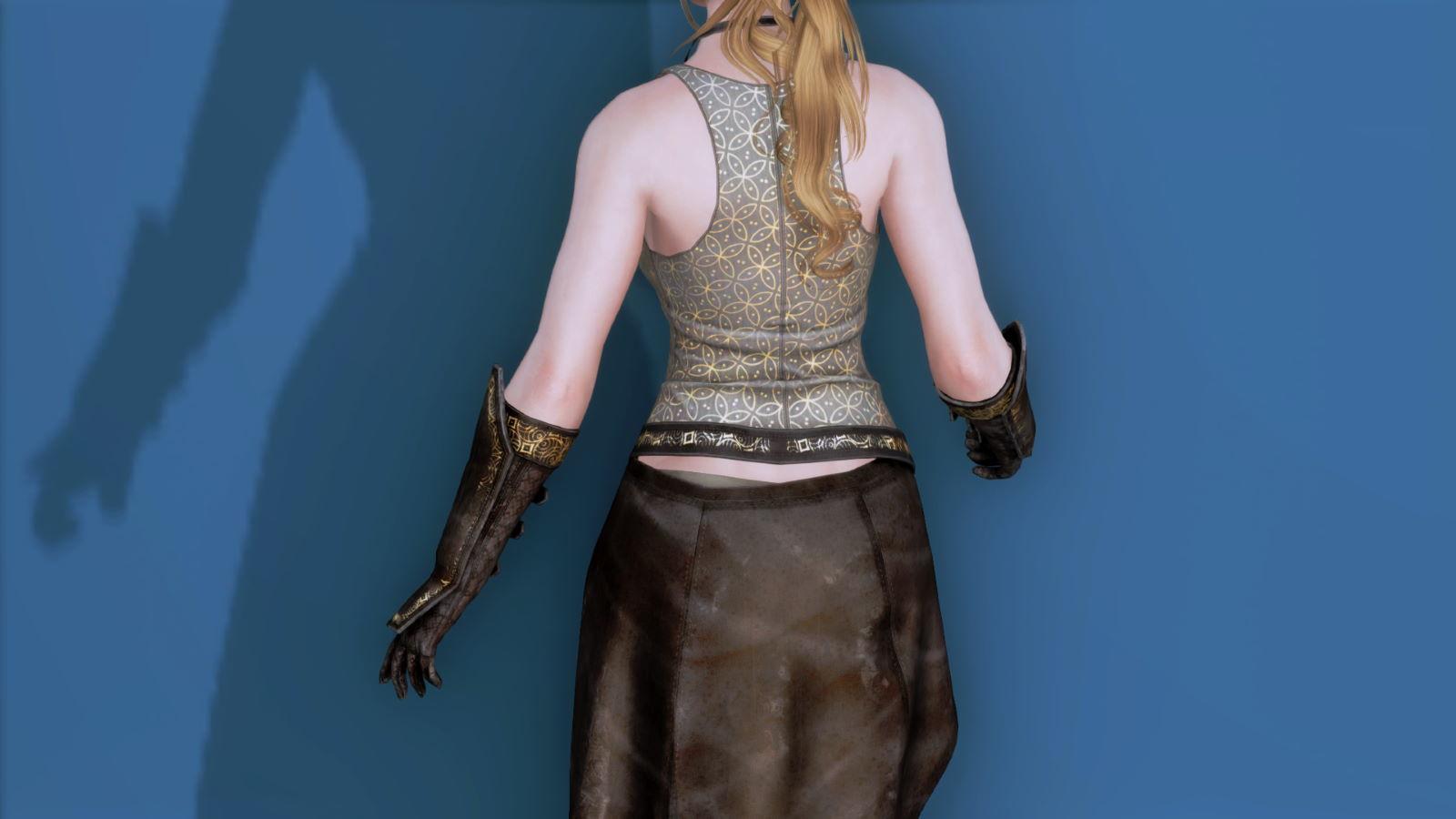 RuggedRogueSSE 213-1 Pose Up-Ba-F Vest Skirt 1