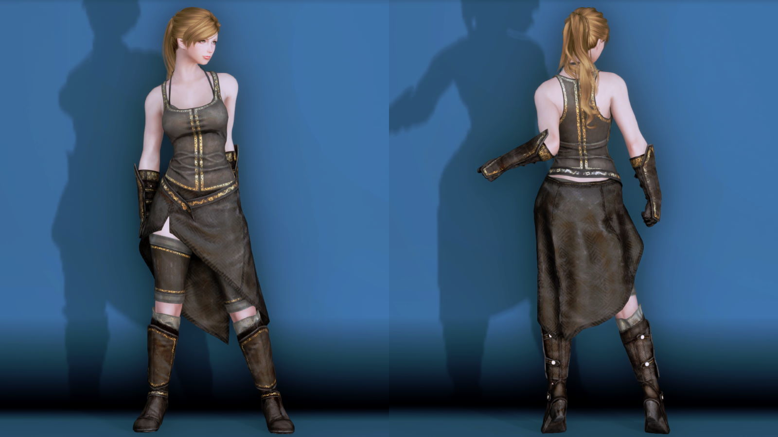 RuggedRogueSSE 221-1 Pose Fu-Ba-F Vest Skirt W 2