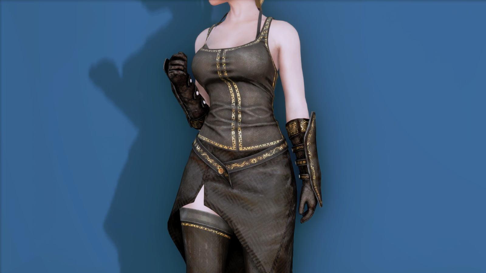 RuggedRogueSSE 222-1 Pose Up-Fr-F Vest Skirt W 1