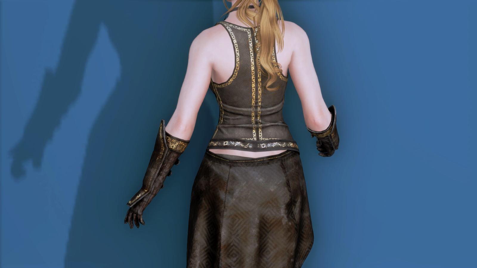 RuggedRogueSSE 223-1 Pose Up-Ba-F Vest Skirt W 1