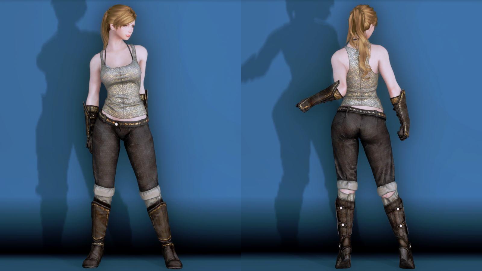 RuggedRogueSSE 231-1 Pose Fu-Ba-F Vest Trouser 2