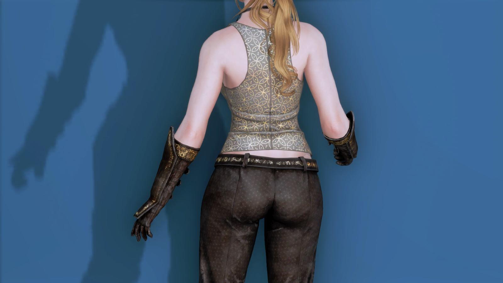 RuggedRogueSSE 233-1 Pose Up-Ba-F Vest Trouser 1