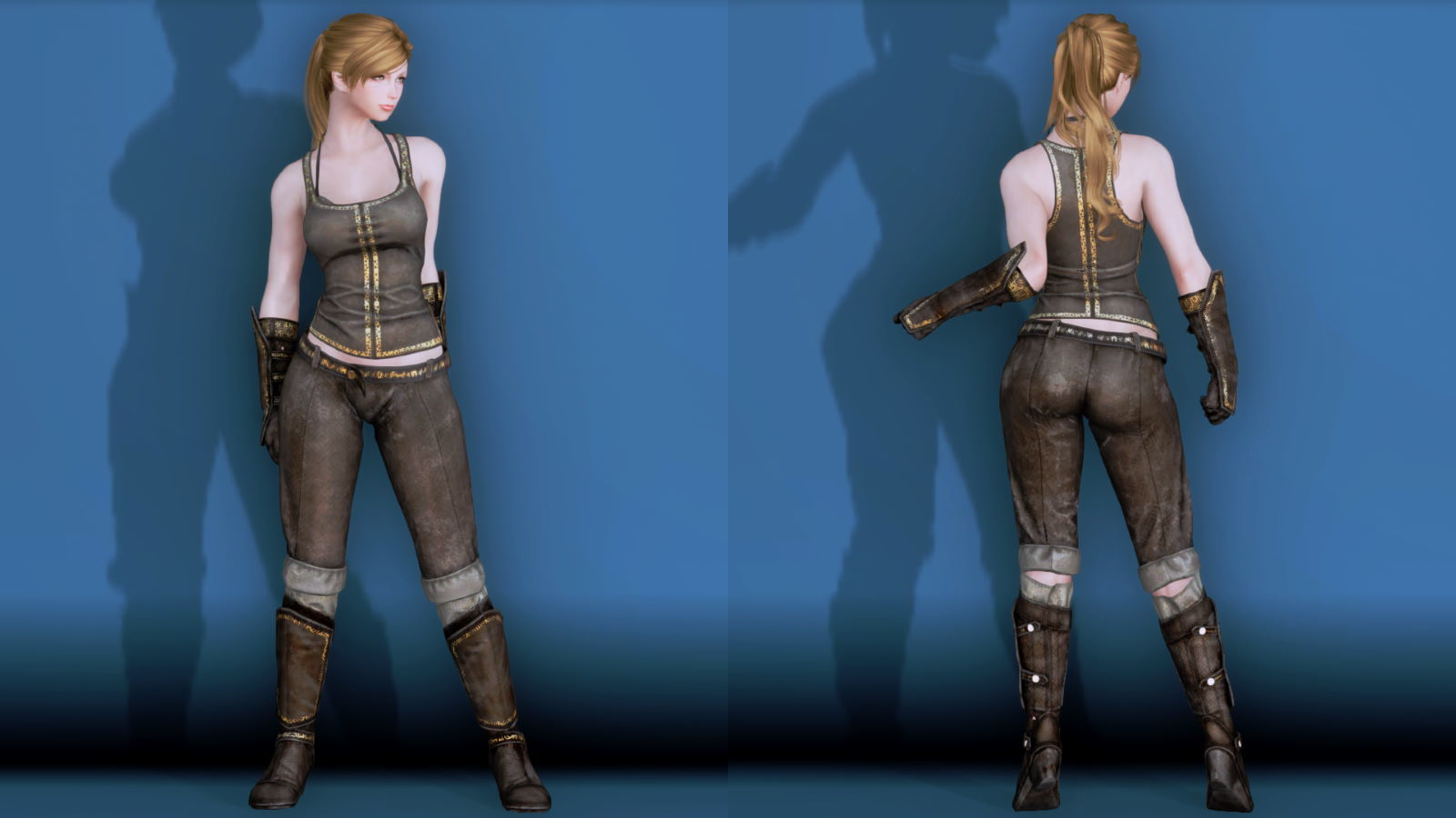 RuggedRogueSSE 241-1 Pose Fu-Ba-F Vest Trouser W 2