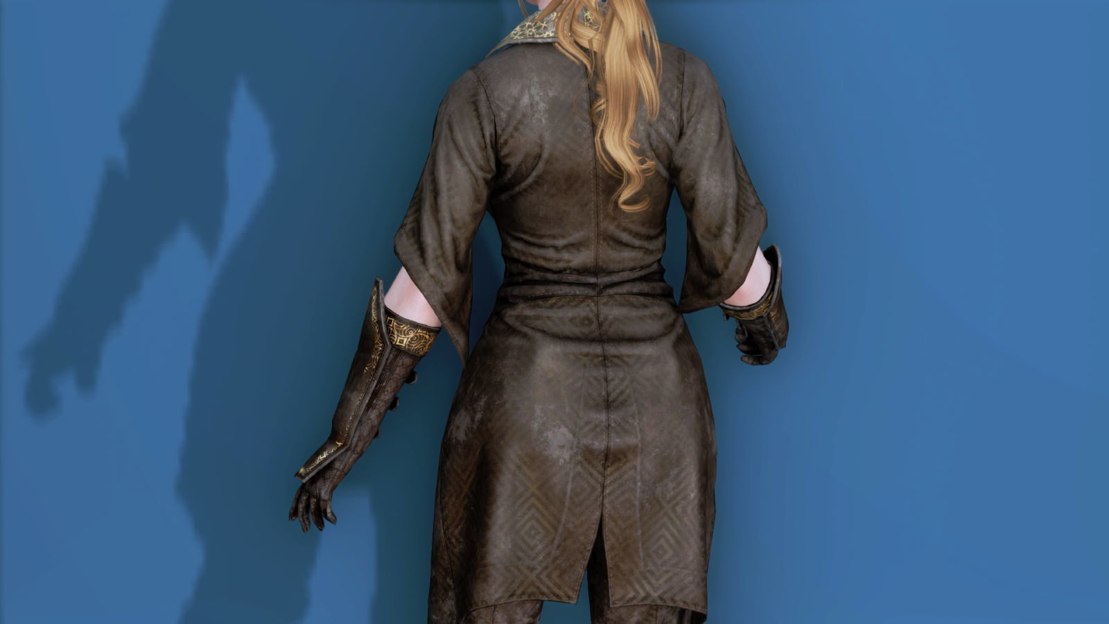 RuggedRogueSSE 323-1 Pose Up-Ba-F Overcoat W 1