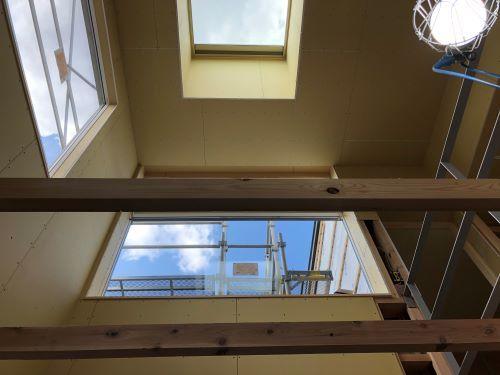 一本杉町の家 天窓