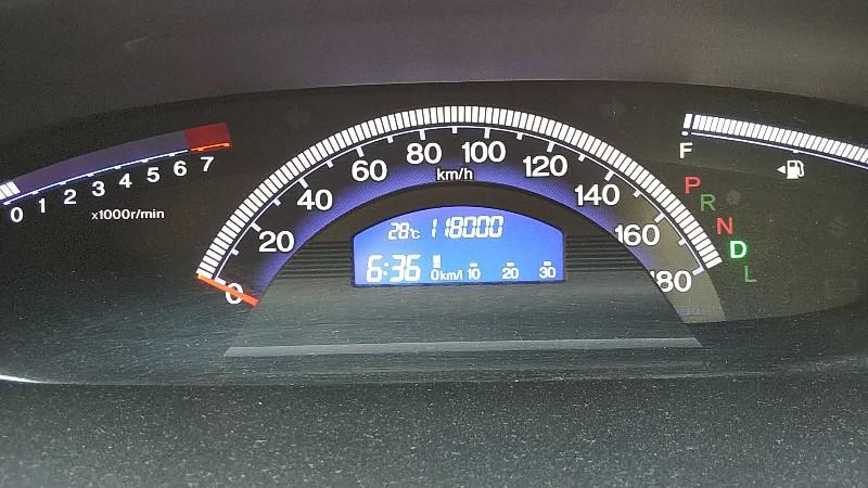 フリードスパイク118,000km
