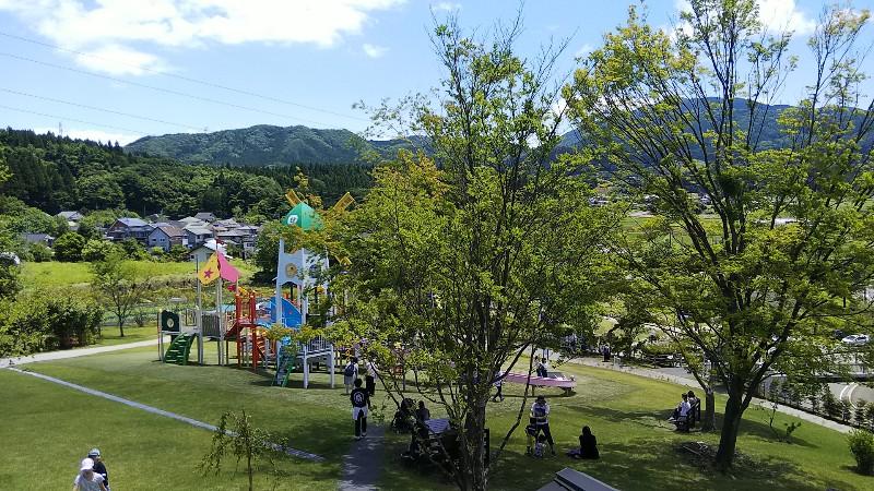道の駅中山盆地高山ふれあい公園遊具202006