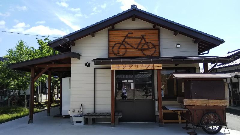 道の駅たくみの里レンタサイクル202006