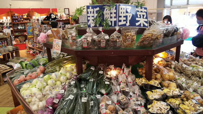 道の駅みなかみ水紀行館新鮮野菜202006