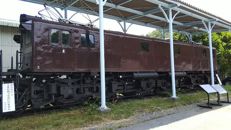 道の駅みなかみ水紀行館電車202006