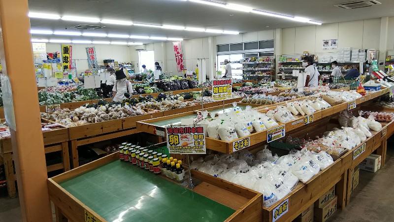 道の駅かわもと農産物直売所202007