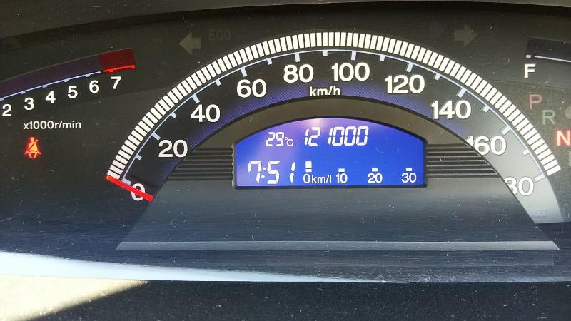 フリードスパイク121,000km