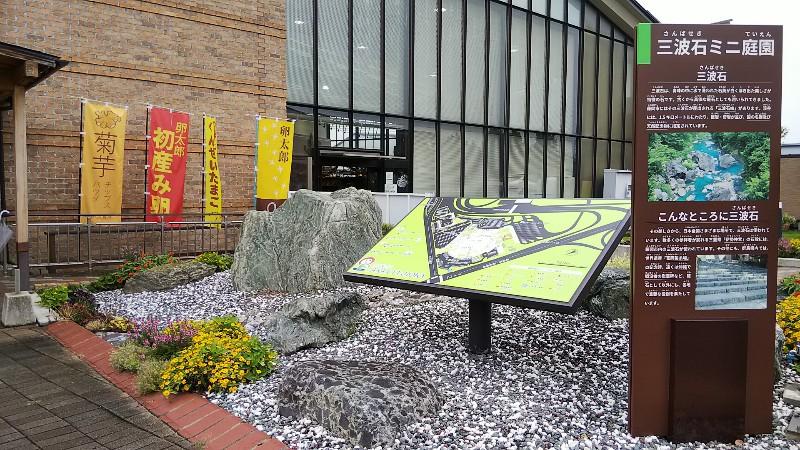 道の駅ららん藤岡山波石ミニ庭園2009