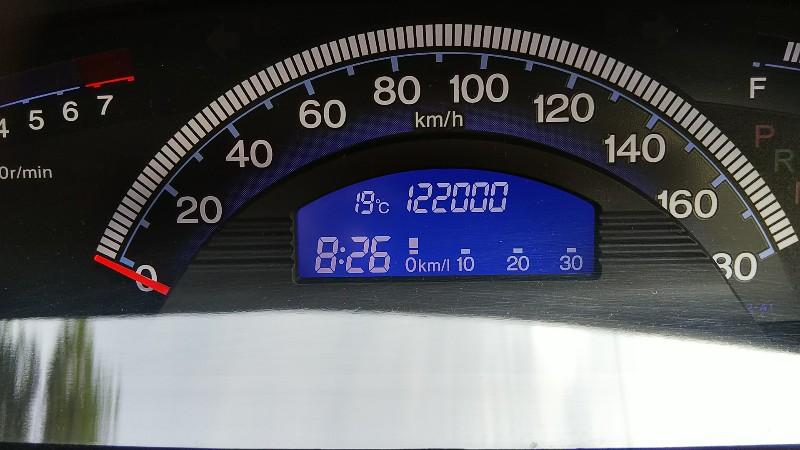 フリードスパイク122,000km