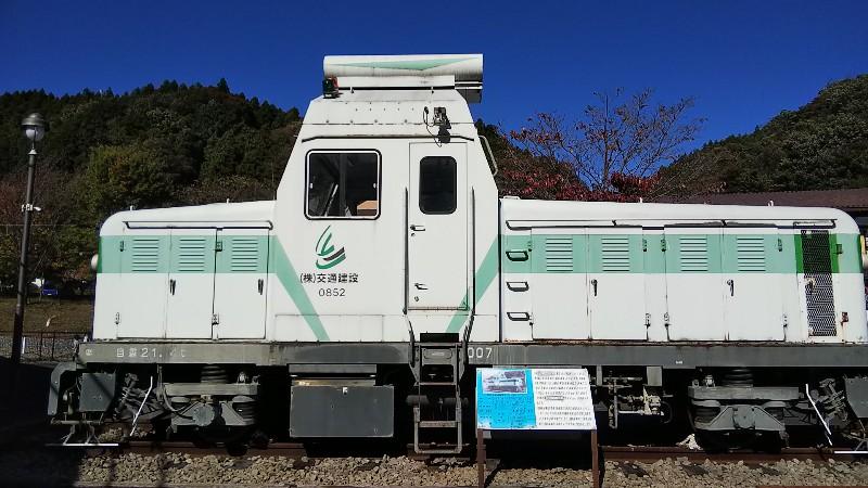 碓氷峠鉄道文化むら新幹線用軌道確認車202010