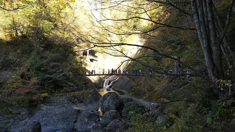 袋田の滝吊り橋202011