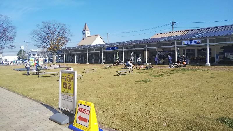 道の駅はが農産物直売所施設202011