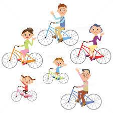 イラスト サイクリング