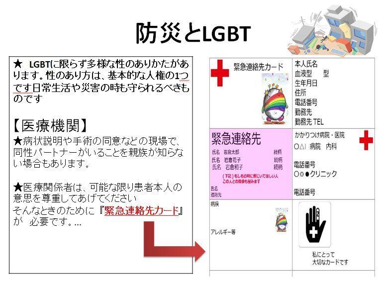 防災とLGBT 1