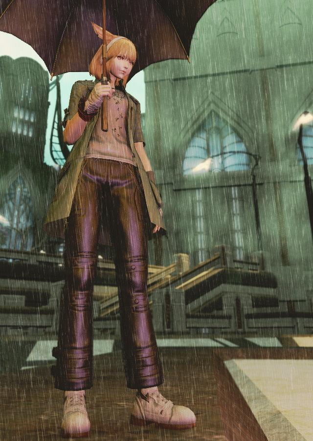 雨降りSS12