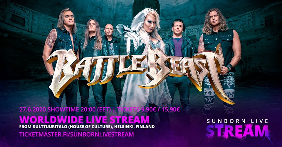 Battle Beast Worldwide Live Stream 27_06_2020