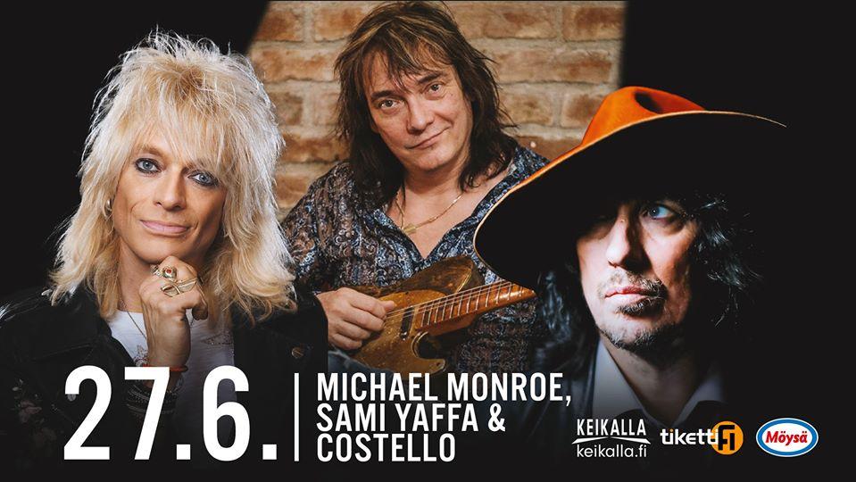 Michael Monroe Sami Yaffa Costello Live stream 27_06_2020