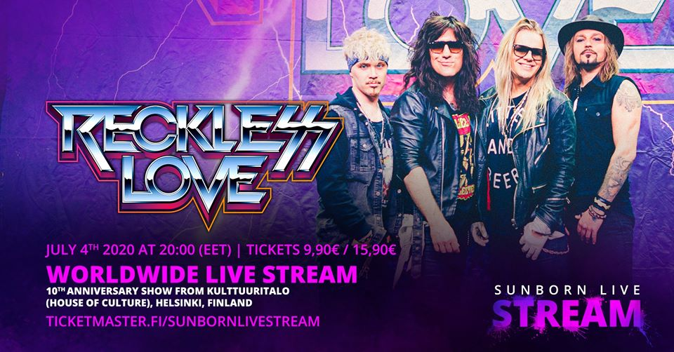Reckless Love Live strean