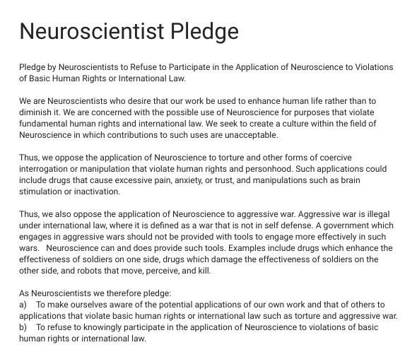 neuro-pledge