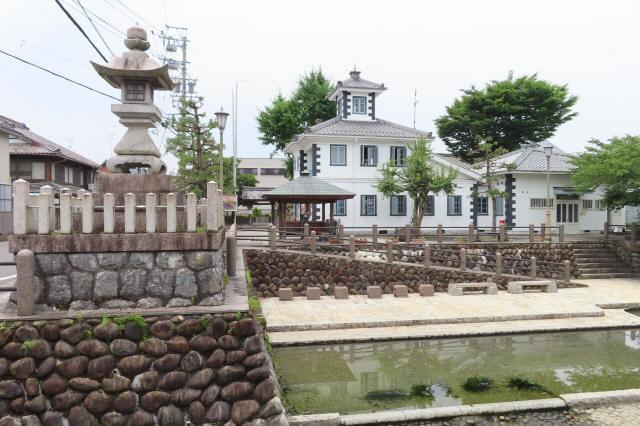 赤坂港会館と川湊跡