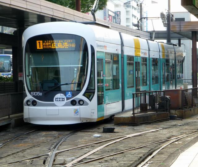 広島の路面電車100503