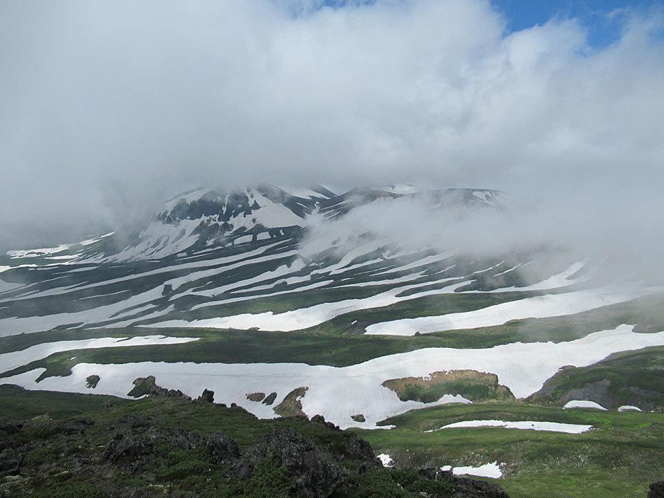 20 7 9 旭岳のストライプ