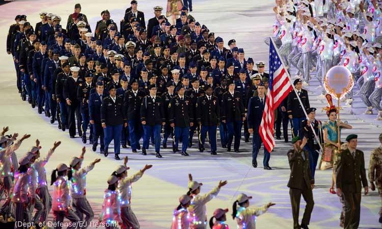 武漢「世界軍事オリンピック」