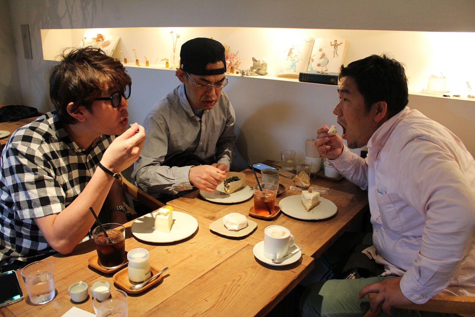 カフェ巡り