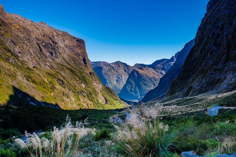 ニュージーランド ミルフォードサウンド ホーマートンネル
