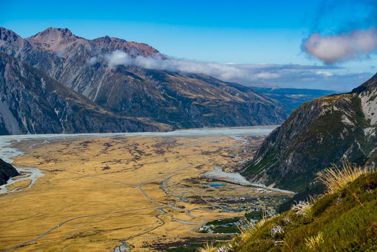ニュージーランド マウントクック セアリーターン
