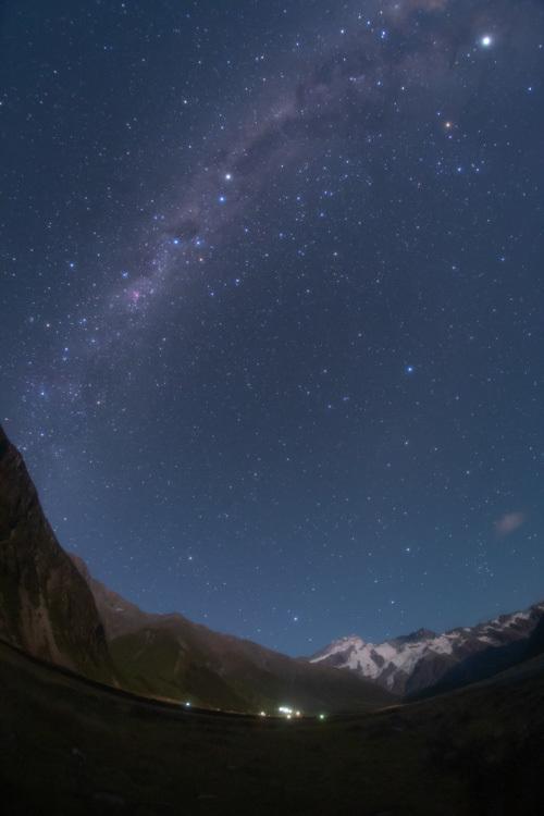ニュージーランド 星景写真 マウントクック