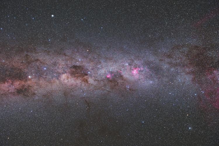 ニュージーランド 天体写真 南十字星 天の川