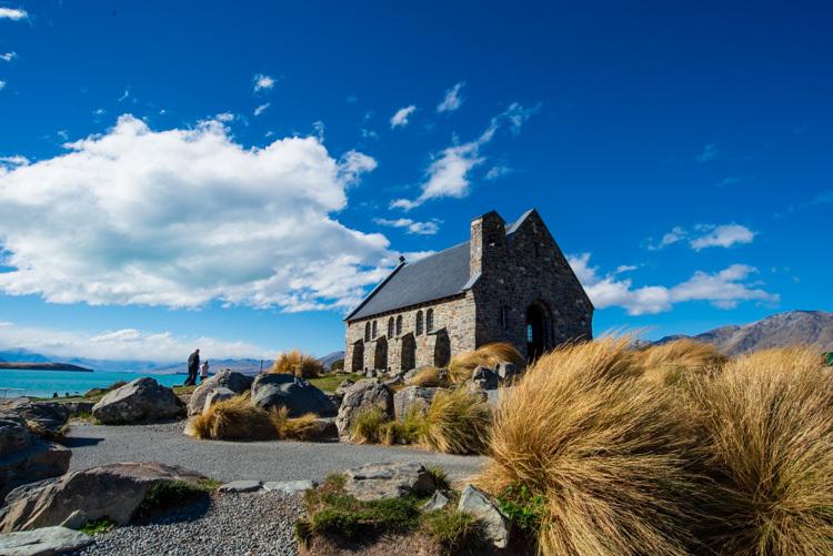 ニュージーランド 旅行 テカポ 教会 善き羊飼いの教会