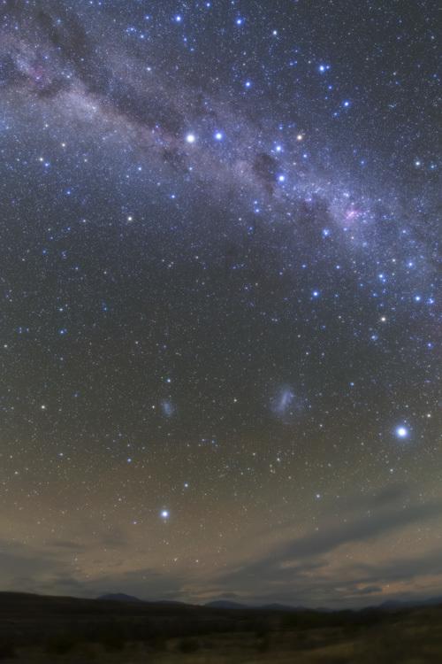 ニュージーランド 天の川 南十字星