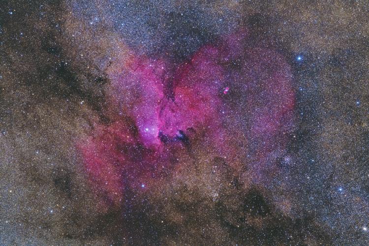 ニュージーランド 天体撮影 星雲 NGC6188
