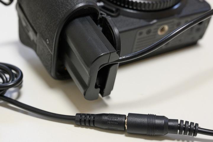 Nikon 外部電源 モバイルバッテリー DCカプラ