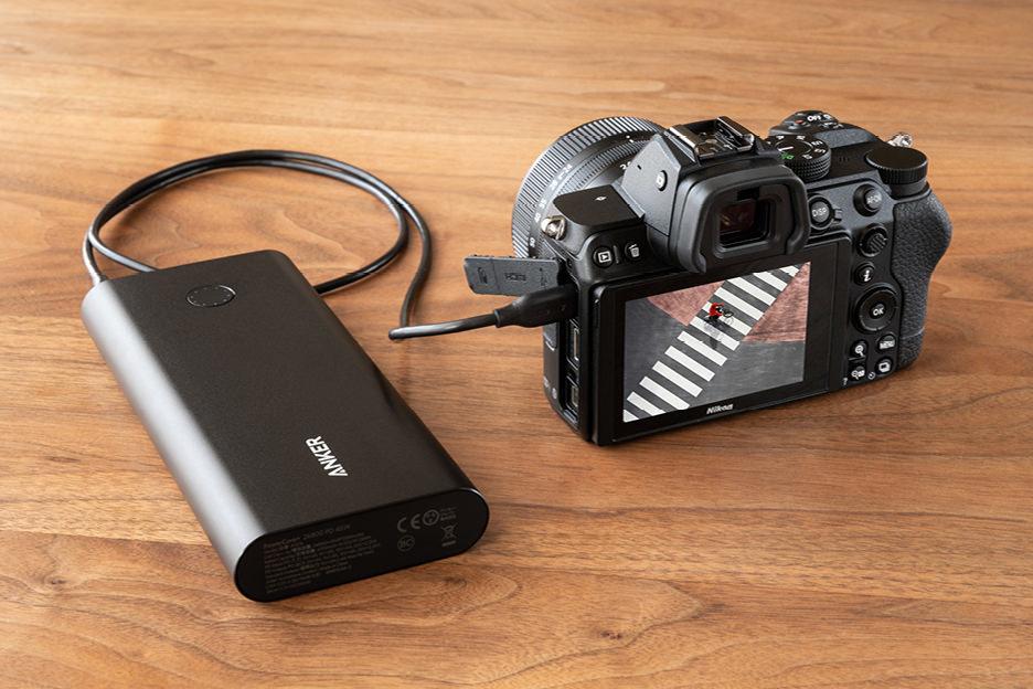 Nikon Z5 USB給電 モバイルバッテリー
