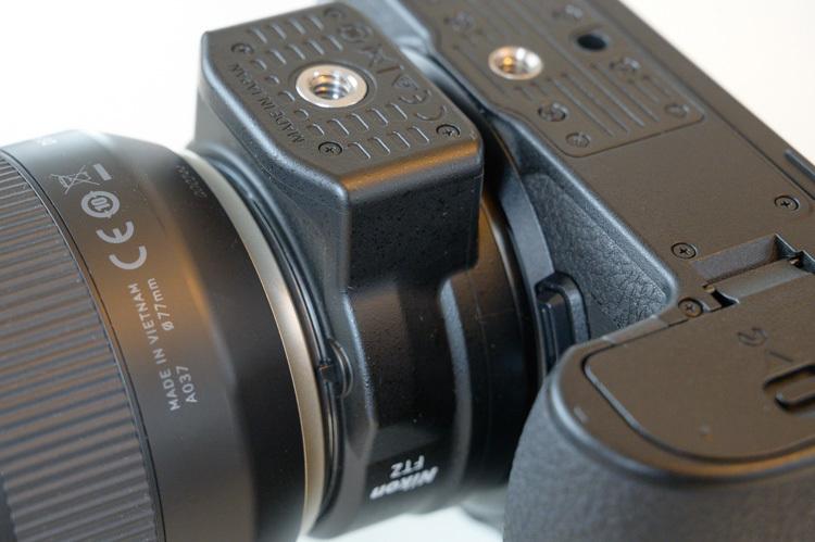 Nikon Z6 FTZ マウントアダプタ 三脚座